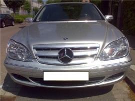 Mercedes W220 S Klasse  AMG Look Grill Zilver/Chroom Bj 2002-2006