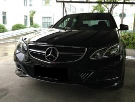 Mercedes W212 E Klasse AMG Look Grill Zwart/Chroom Bj 2014-Heden