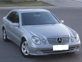 Mercedes W211 E Klasse AMG Look Grill Zilver/Chroom Bj 2002-06/2006