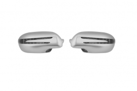 Mercedes R230 SL AMG Look Spiegelkappen Upgrade V-Led Bj 2006-2008 Zilver