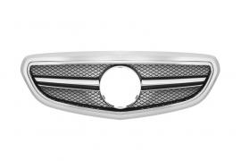 Mercedes W212 E Klasse AMG Look Grill Zilver/Chroom Bj 2014-Heden