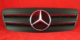Mercedes W208 CLK AMG Look Grill Matzwart Met Matzwarte ster Bj 1997-2003