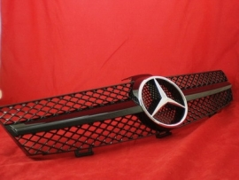 Mercedes W219 CLS AMG Look Grill Glanszwart  Bj 2004-2008
