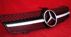 Mercedes W219 CLS AMG Look Grill Zwart/Chroom Bj 2004-2008