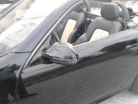 Mercedes W208 CLK AMG Look Spiegelkappen Upgrade V-Led Zwart Bj 1997-2003