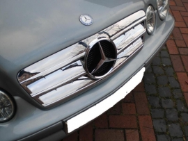 Mercedes W208 CLK AMG Look Grill  Chroom Bj 1997-2003