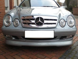 Mercedes W208 CLK AMG Look Grill  Chroom Bj 1997-2003