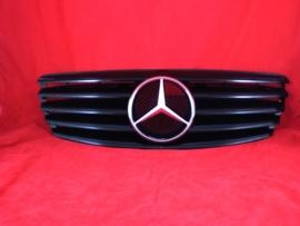 Mercedes W211 E Klasse AMG Look Grill Glanszwart Bj 2002-06/2006
