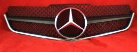 Mercedes W207 Coupe E Klasse AMG Look Grill Matzwart Met Chromen Ster Bj 2007-2014