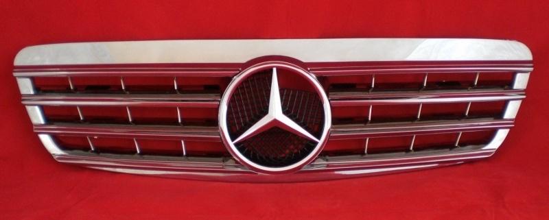 Mercedes W220 S Klasse AMG Look Grill Chroom Bj 1998-2002