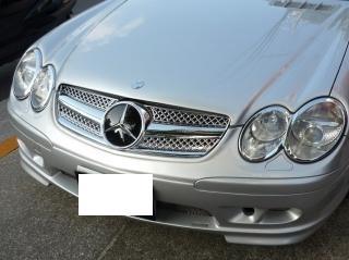 Mercedes R230 SL AMG Look Grill Sportgrill Bj 2001-2011 Chroom