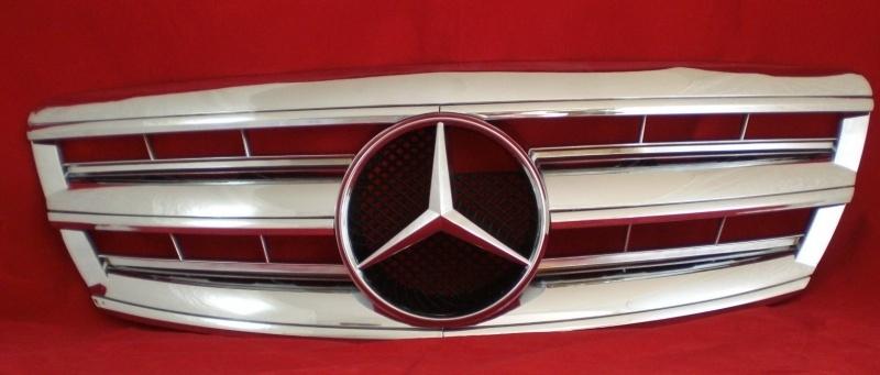 Mercedes W220 S Klasse AMG Look Grill Chroom Bj 2002-2006