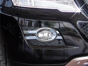 Mercedes W164 ML Klasse AMG Look Chromen Nevelomranding Mistlampen Bj 2009-2011