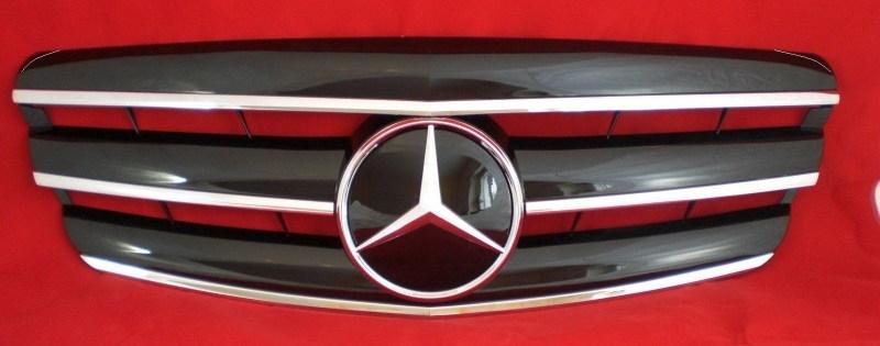 Mercedes W221 S Klasse AMG Look Grill Zwart/chroom Bj 2005-2009