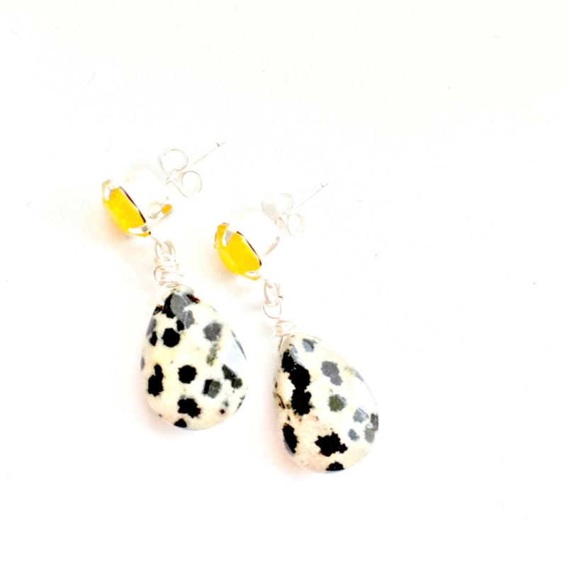 Swarovski & dalmatiër jaspis