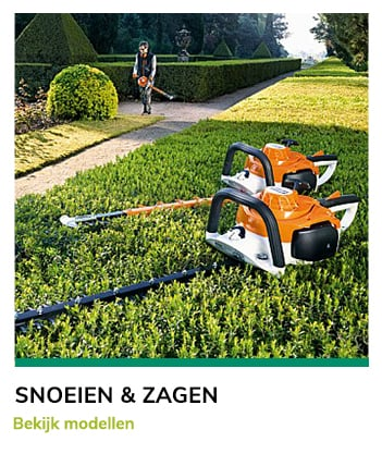 Tuin en parkmachines Van Bergen - Snoeien en Zagen