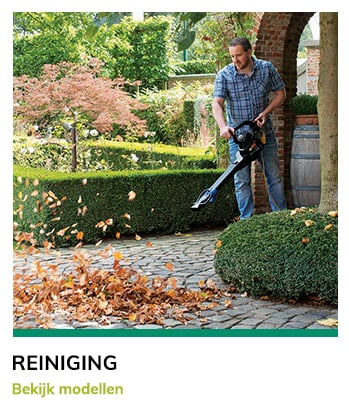Tuin en parkmachines Van Bergen - Reiniging