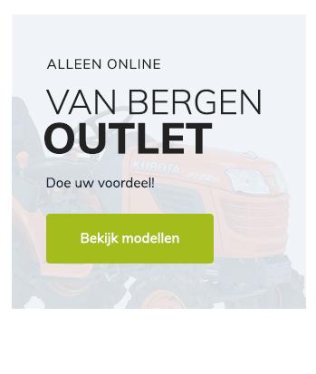 Tuin en parkmachines Van Bergen - Outlet