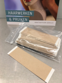 Fix hairtape zonder residue, strips 25 mm breed