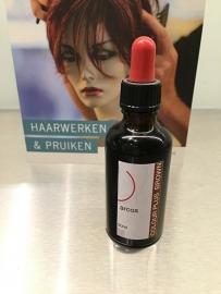 ARCOS color plus , voor het opfrissen van de haarkleur van uw ECHT haar haarwerk .