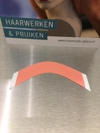 Red liner (RL) tape voor permanent dragen of als dubbelzijdige ondertape contour 25 mm