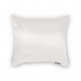 Beauty pillow,  kleur PEARL -  Satijnen kussensloop, voorkomt slijtage aan het haarwerk tijdens nachtrust.