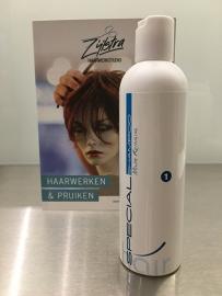 Hairtech special shampoo voor synthetisch haar en echt haar  num. 1.