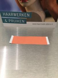 Red liner (RL) tape voor permanent dragen of als dubbelzijdige ondertape strips 25 mm