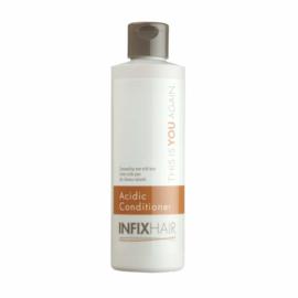 Infix hair Acidic,  creme, conditioner,  voor haarwerken van ECHT haar.  1 LITER