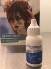Ghost bond XL voor permanente bevestiging, ook voor lace haarwerken, sterke kleefkracht, 38 ml.