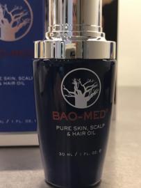 Mediceuticals - BAO-MED  olie, Kalmerende olie voor (hoofd) huid.