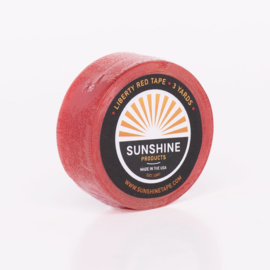 Sunshine Liberty red tape, Red liner als ondertape en plakken - rol