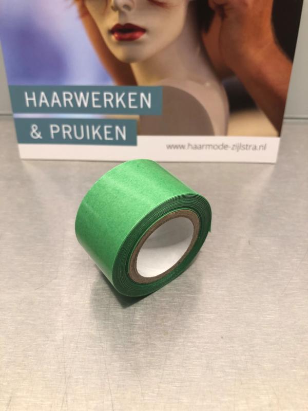 Fix Green tape, rol van 2.75 meter, 25 mm breed.