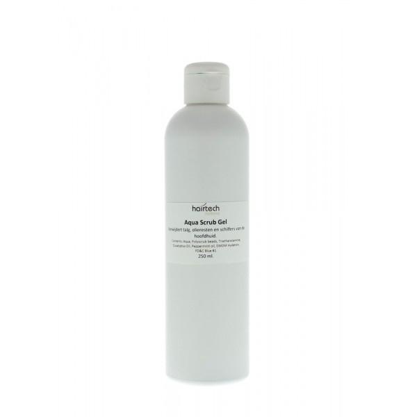 Aqua scrub gel, voor intensieve reiniging van de hoofdhuid.