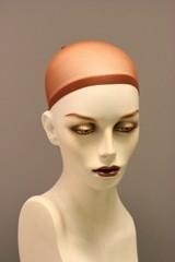 2 x Wig-cape, kleur BEIGE,  speciaal voor onder het haarwerk, makkelijk voor het verdelen van uw eigen haar onder een pruik , haarwerk.