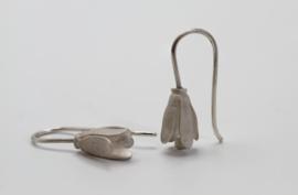 Deco Echo zilveren kleine bloem hangers