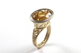 Royal ring met cirtien