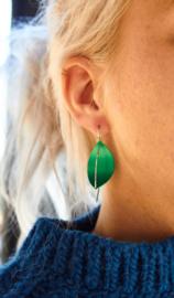 Apero Segel oorbellen (groen)