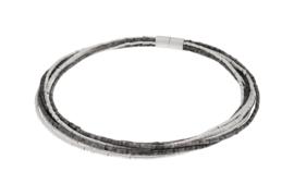 Deco Echo zilveren ketting