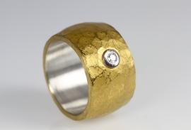 Monika Killinger ring met diamant