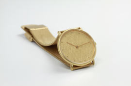EMKA goudkleurig horloge ( mat )