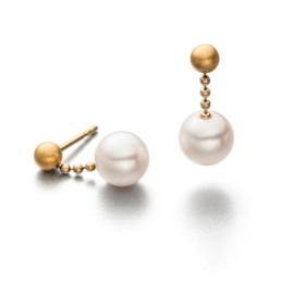 Eva Strepp Vergoldete Ohrschmuck mit Perle