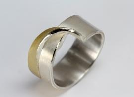 Manu schmuck ring met lusje
