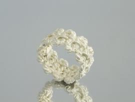 Brigitte Adolph zilveren ring