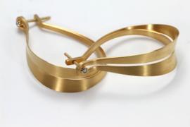 Oliver Schmidt gouden oorbellen