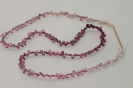 Striffler en Kraus collier met roze toermalijn