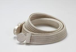 Manu schmuck zilveren ketting ( breed )