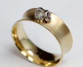Cardillac ring met diamanten