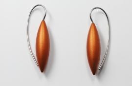 Apero Tulp oorbellen klein (oranje)