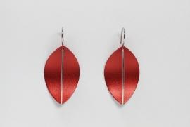 Apero Segel oorbellen (rood)